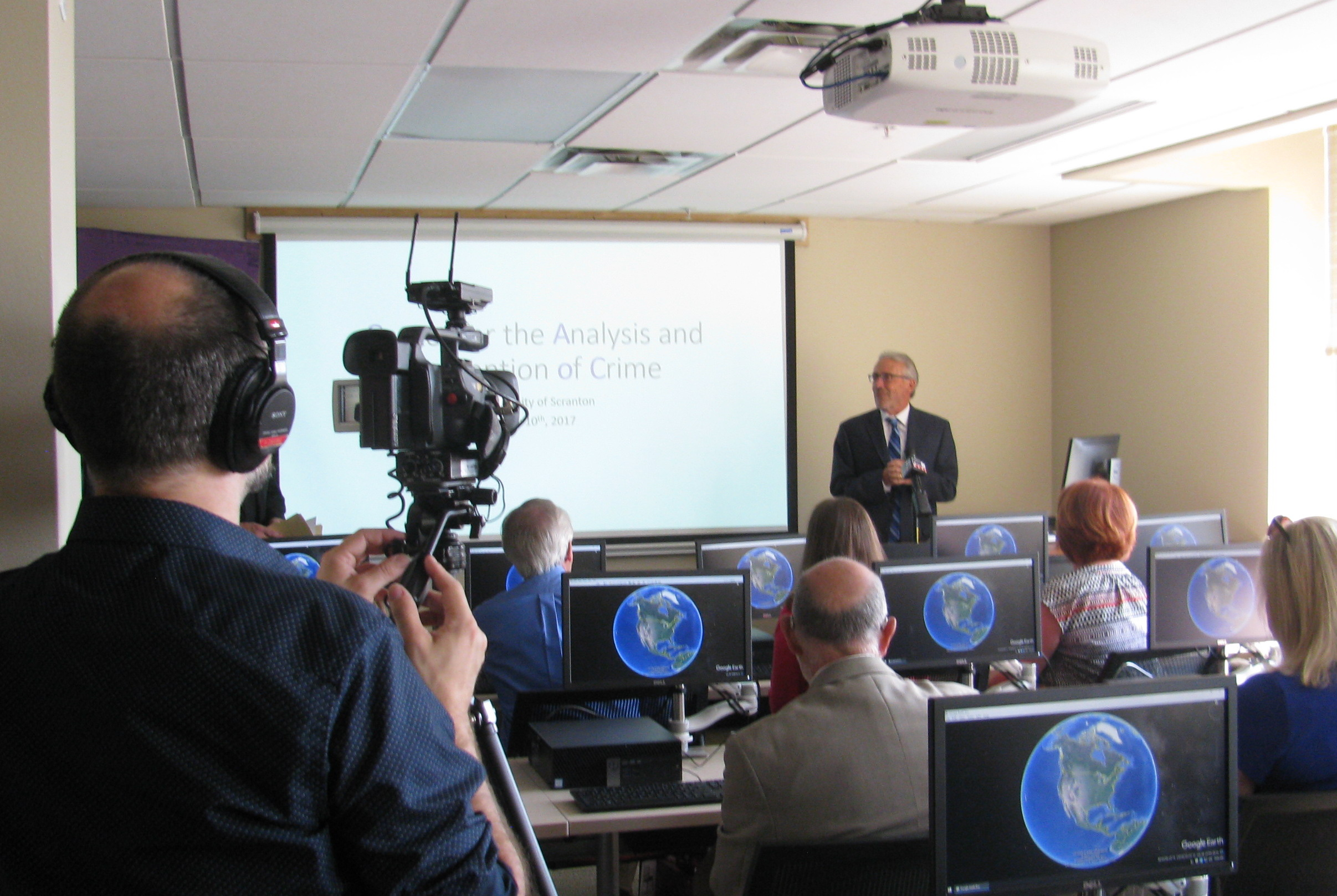 University of Scranton Opens Center for the Analysis and