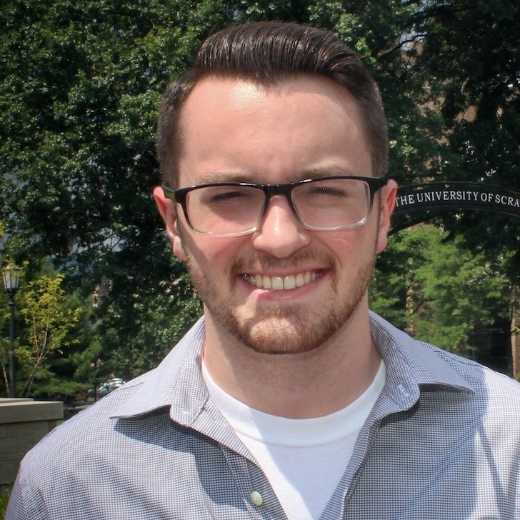 Eric Eiden '19, Throop, is a journalism/electronic media major at The University of Scranton.