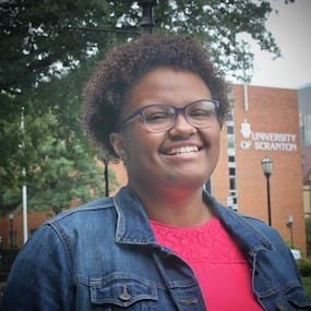 Anastasia McClendon '20, Chinchilla, is an English major at The University of Scranton.