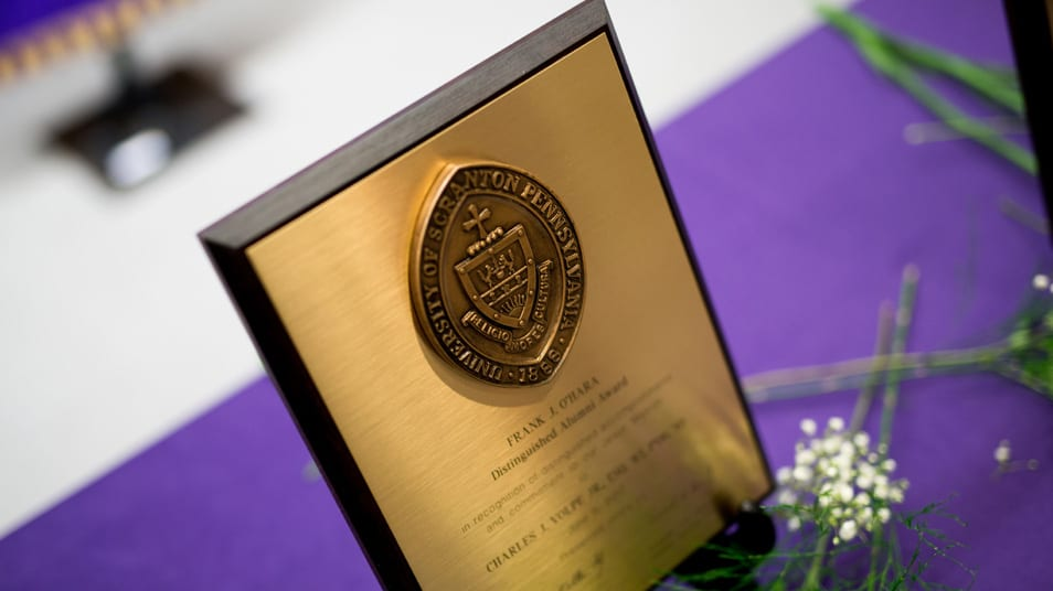 University Announces 2019 O'Hara Award Honorees