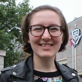 Alexis Ward '20, Wysox, is an English, philosophy and Asian studies triple major and member of the Special Jesuit Liberal Arts Honors Program and the undergraduate Honors Program at The University of Scranton.